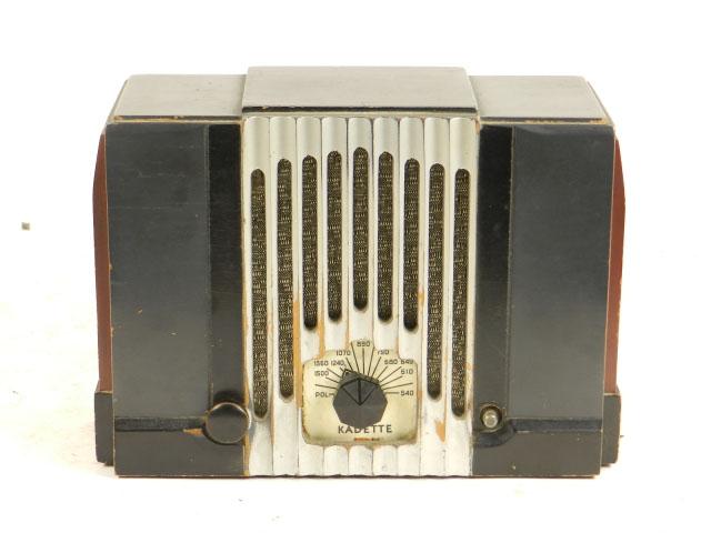RADIO KADETTE MODELO B AÑO 1933