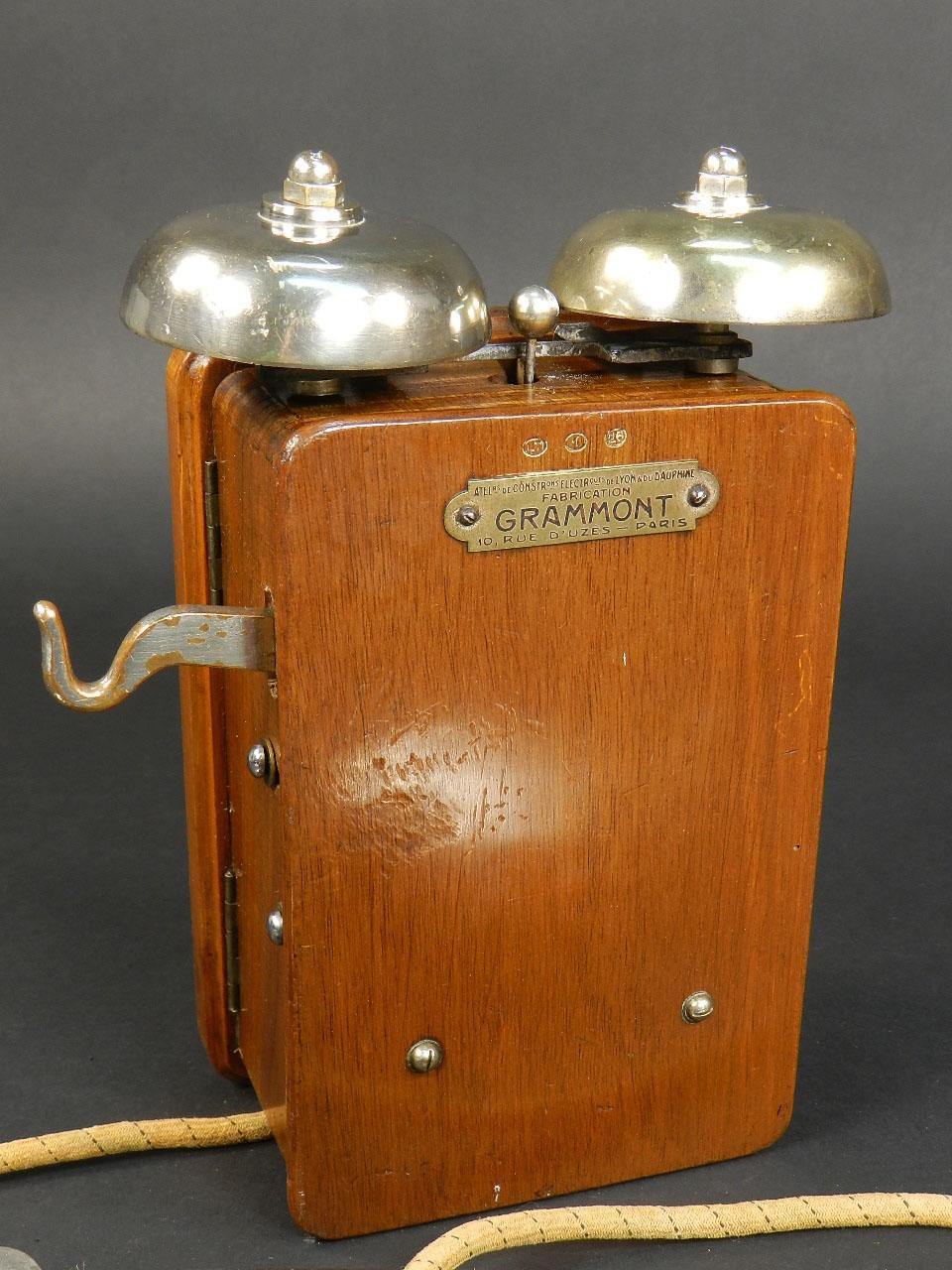 Imagen TELÉFONO GRAMMONT DE DOS CAMPANAS AÑO 1920 24584