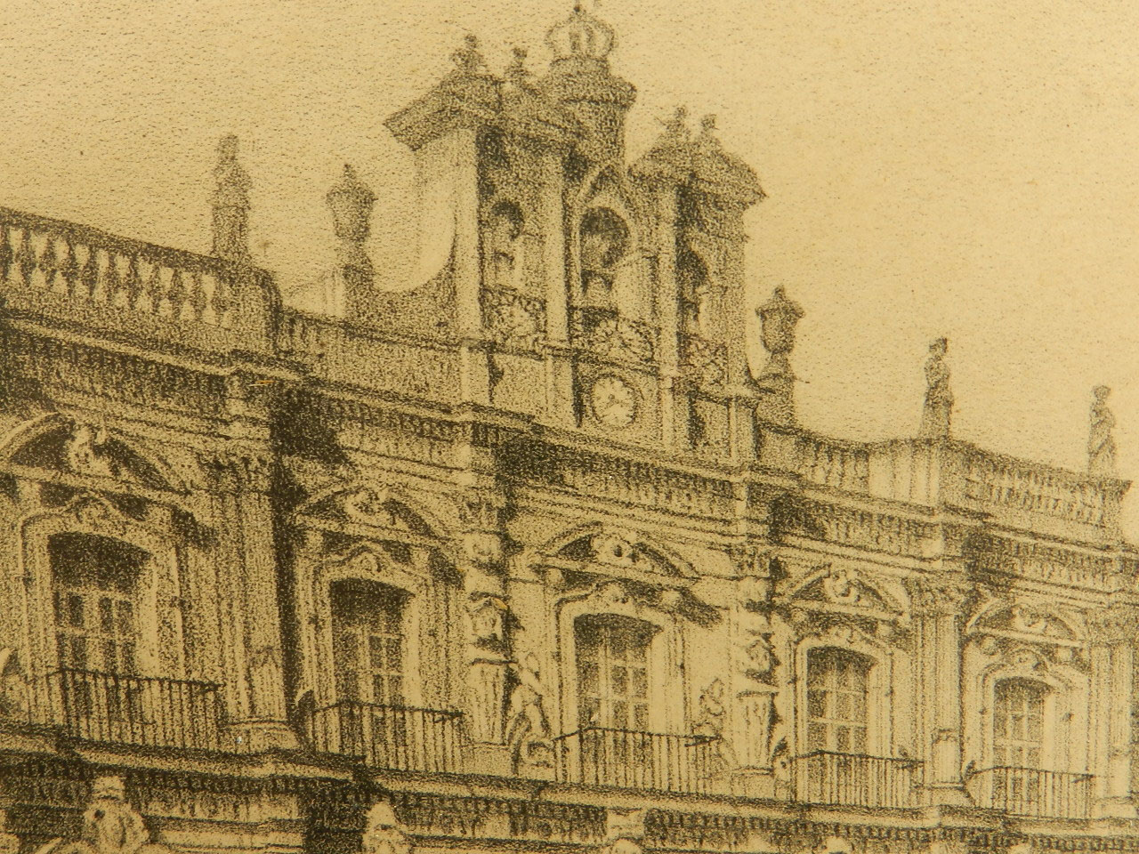 Imagen LITOGRAFÍA P. MAYOR SALAMANCA AÑO 1860 24851