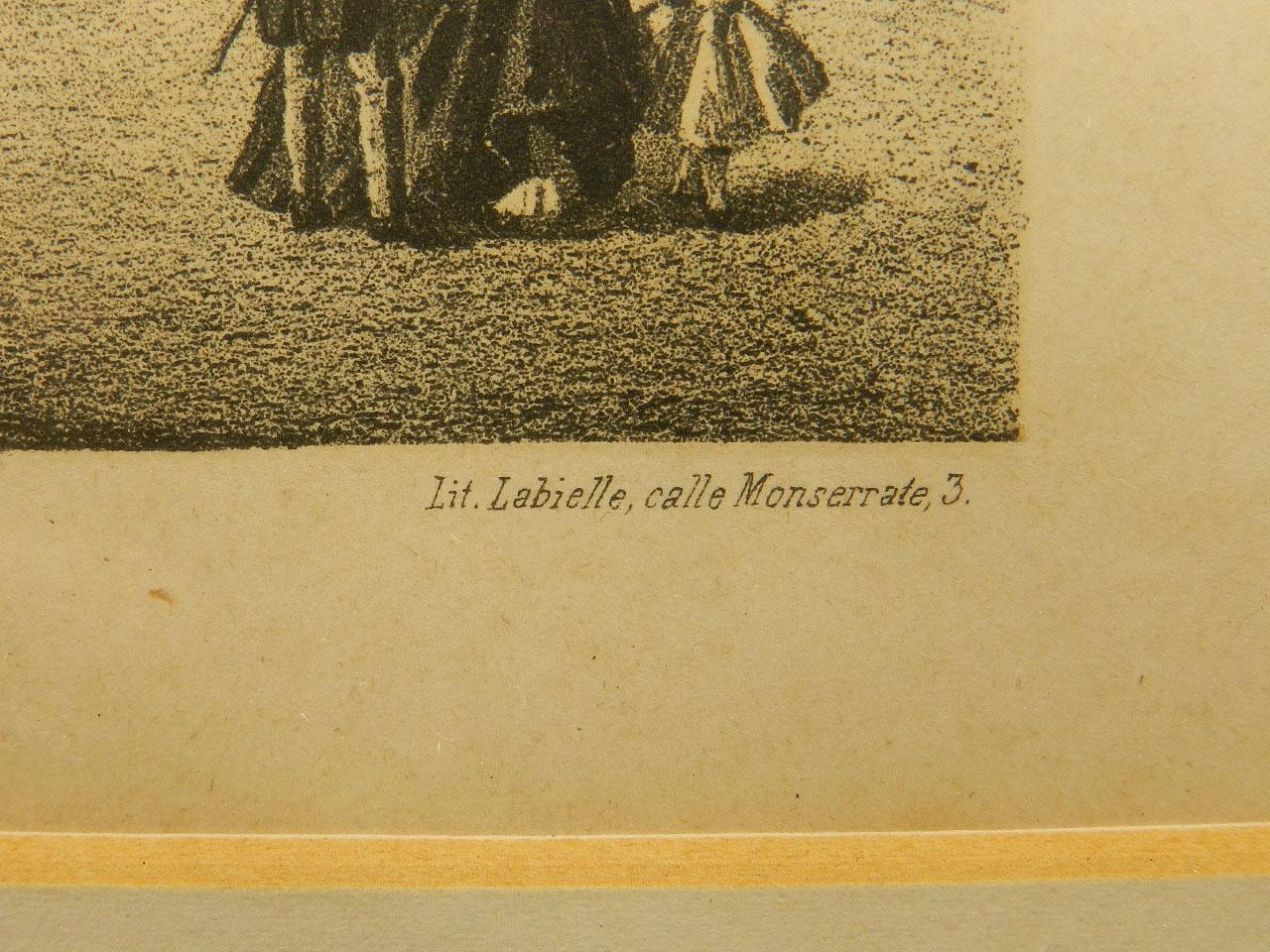 Imagen LITOGRAFÍA P. MAYOR SALAMANCA AÑO 1860 24845