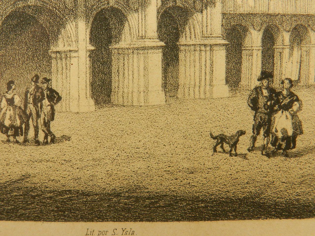 Imagen LITOGRAFÍA P. MAYOR SALAMANCA AÑO 1860 24847