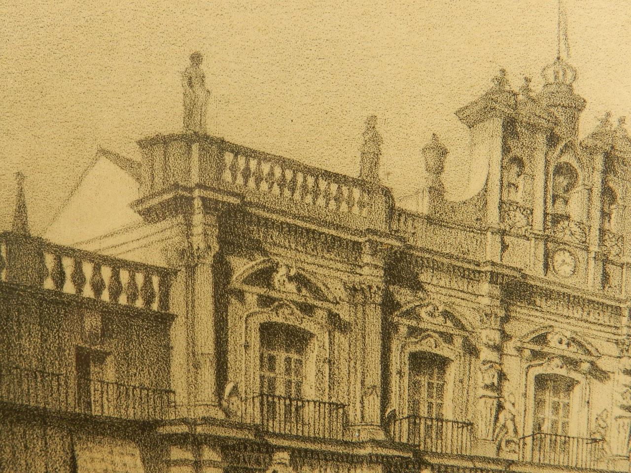 Imagen LITOGRAFÍA P. MAYOR SALAMANCA AÑO 1860 24849
