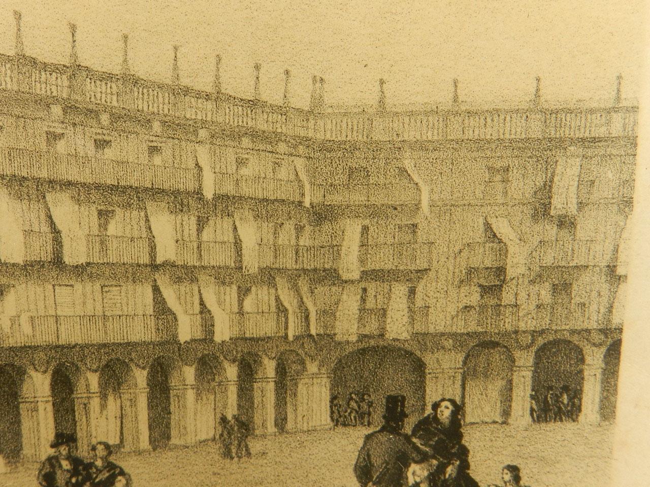 Imagen LITOGRAFÍA P. MAYOR SALAMANCA AÑO 1860 24850