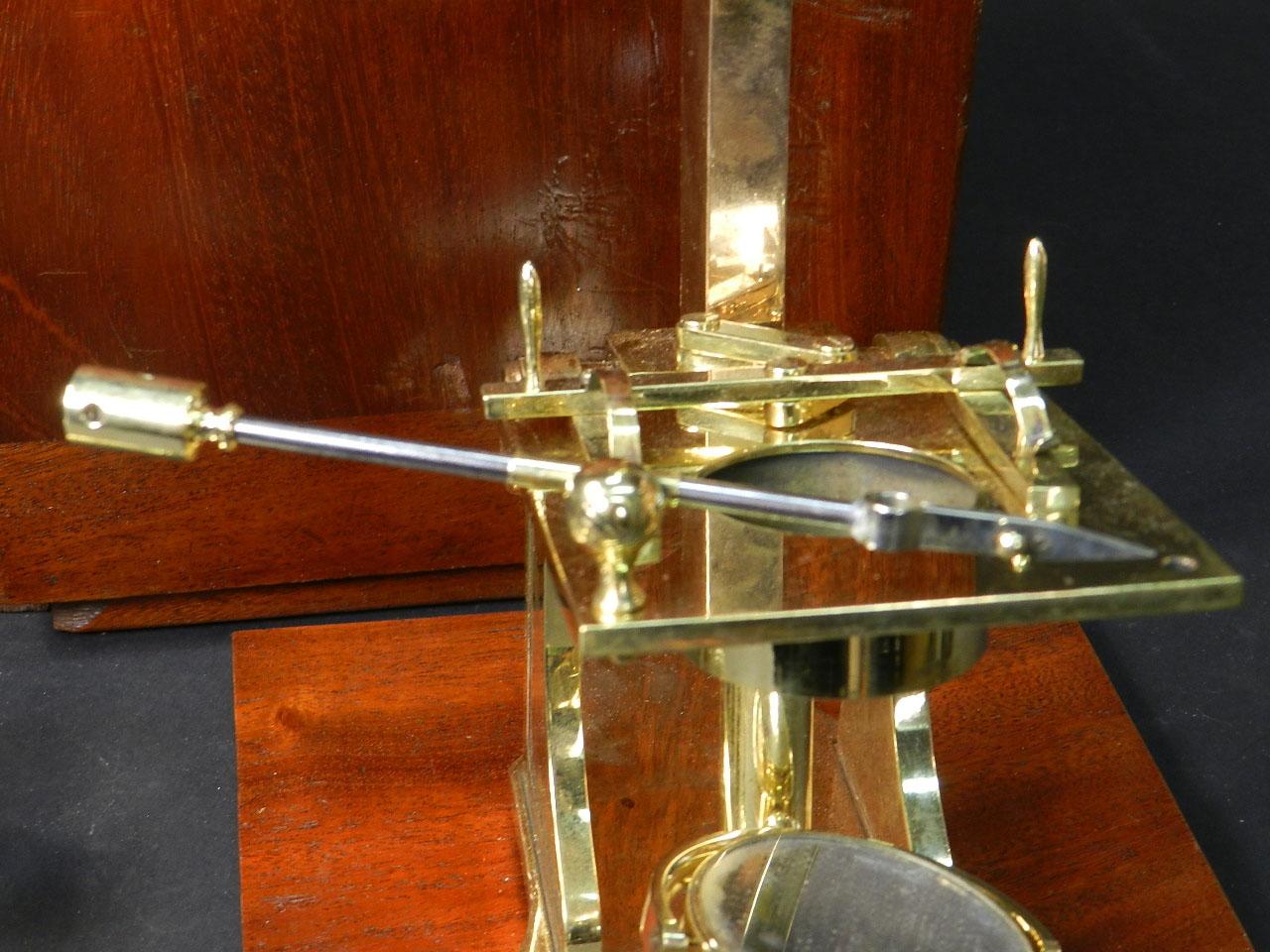 Imagen MICROSCOPIO BINOCULAR H.W. CROUCH AÑO 1862 24900