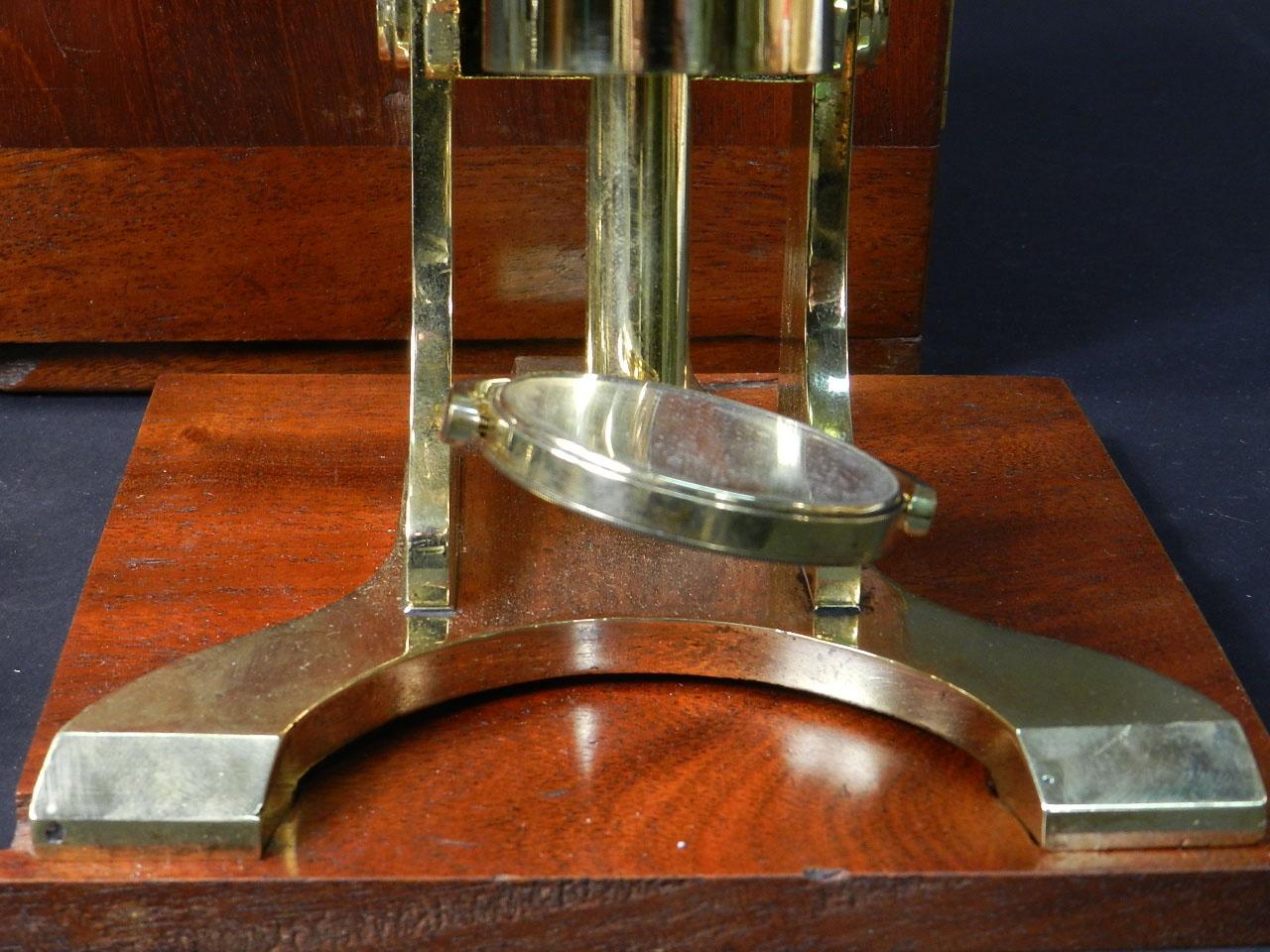 Imagen MICROSCOPIO BINOCULAR H.W. CROUCH AÑO 1862 24901