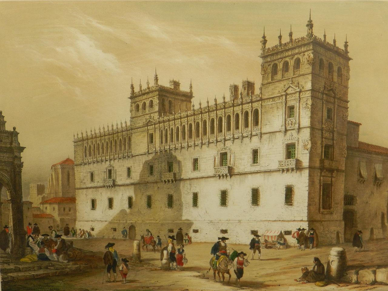 Imagen LITOGRAFÍA PALACIO MONTERREY 1842 24964