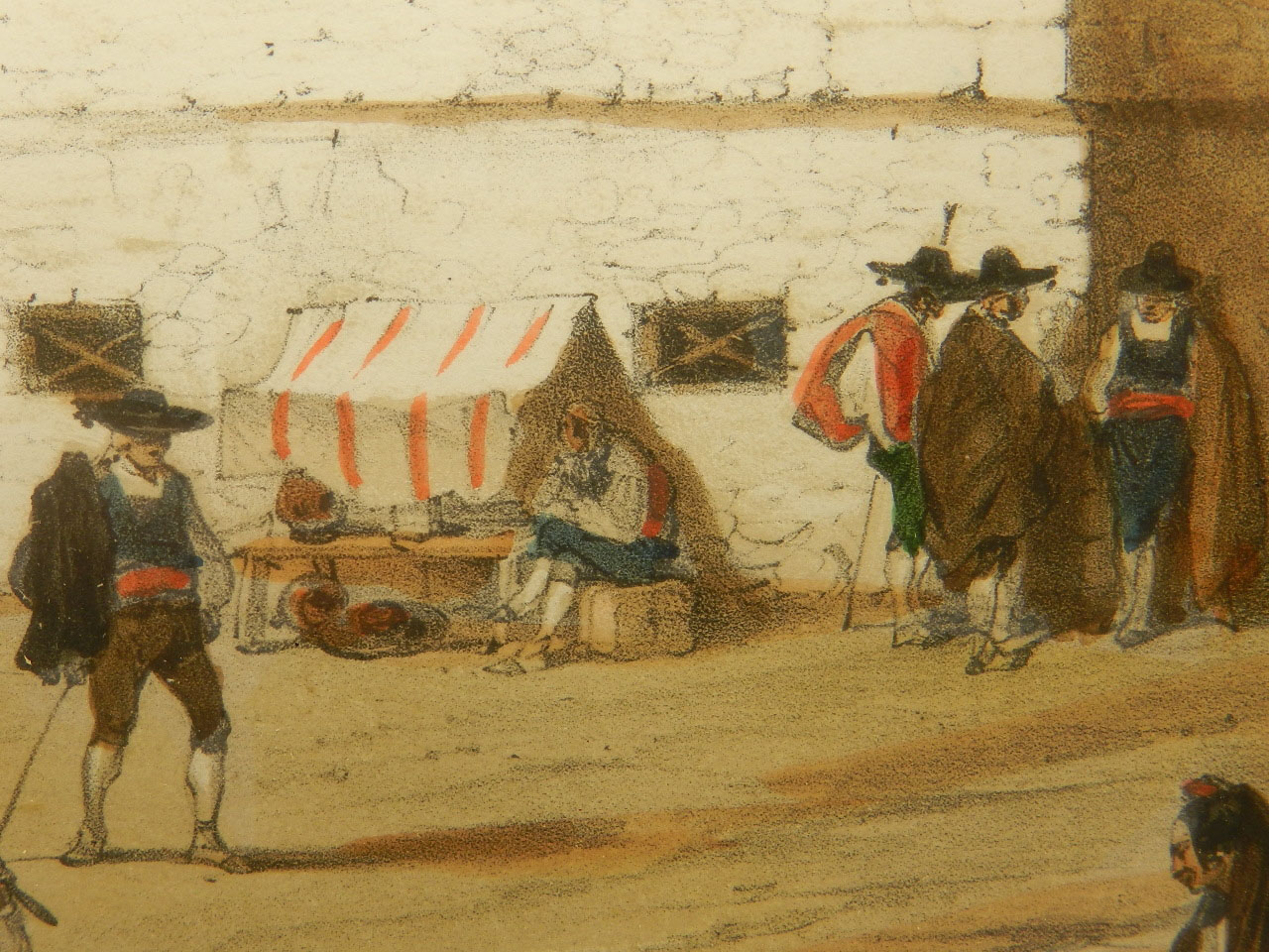 Imagen LITOGRAFÍA PALACIO MONTERREY 1842 24974