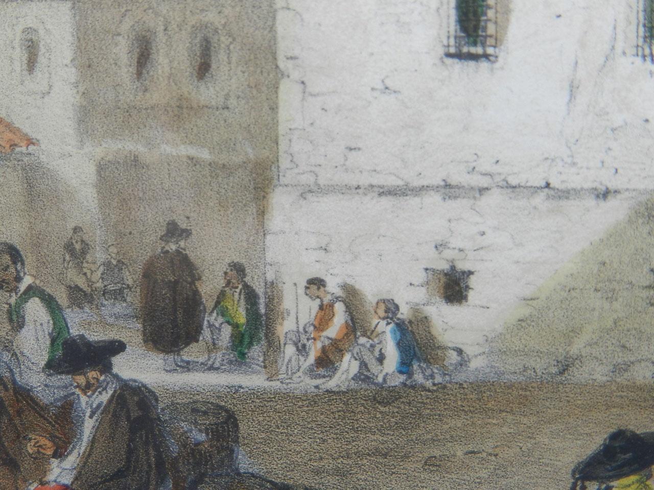 Imagen LITOGRAFÍA PALACIO MONTERREY 1842 24975