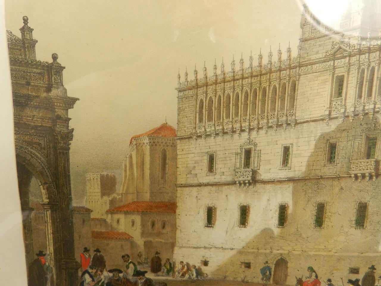 Imagen LITOGRAFÍA PALACIO MONTERREY 1842 24976