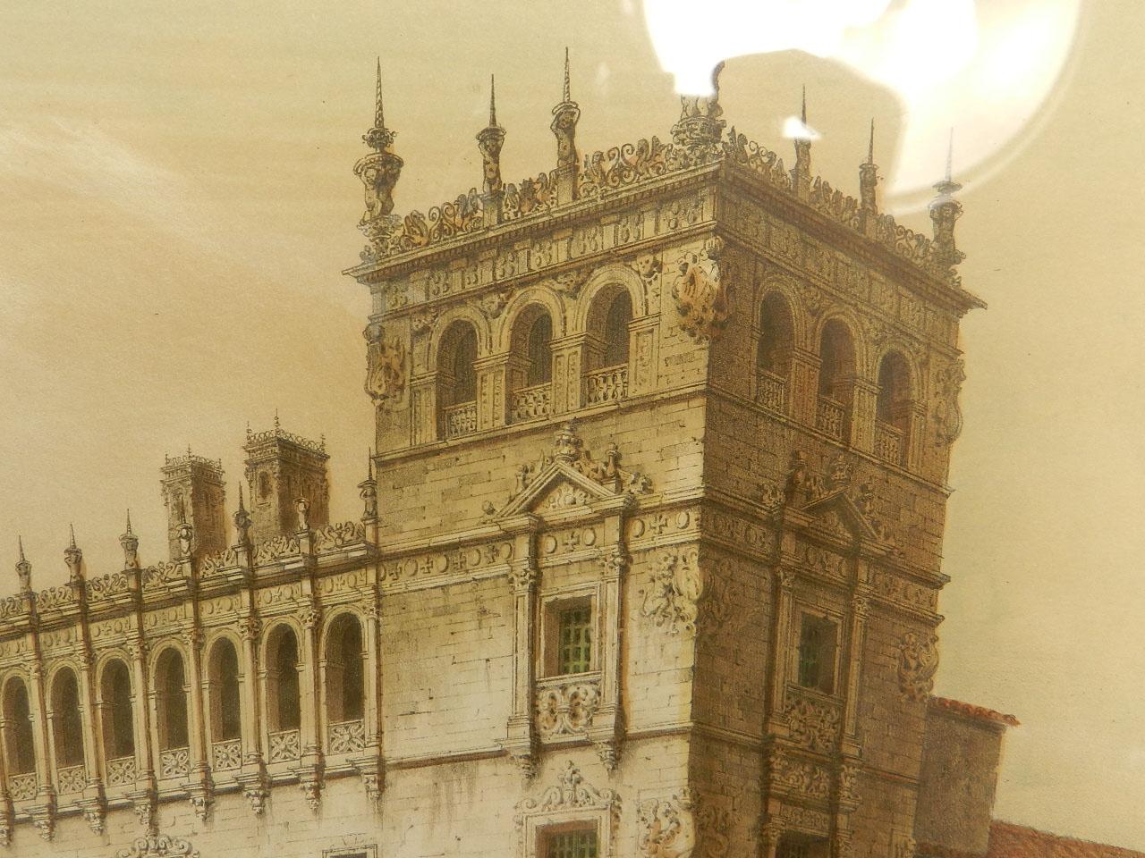 Imagen LITOGRAFÍA PALACIO MONTERREY 1842 24977