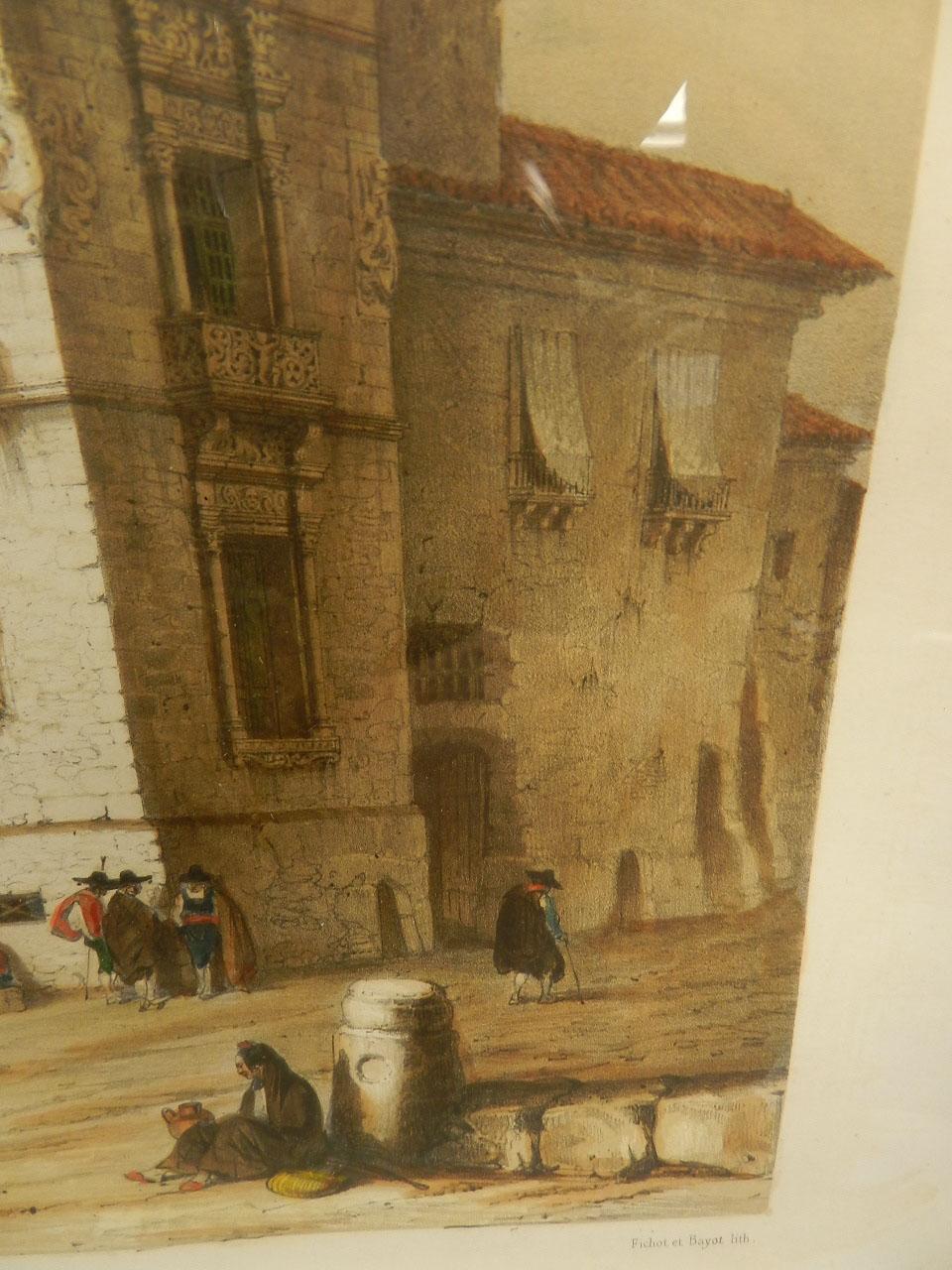 Imagen LITOGRAFÍA PALACIO MONTERREY 1842 24978