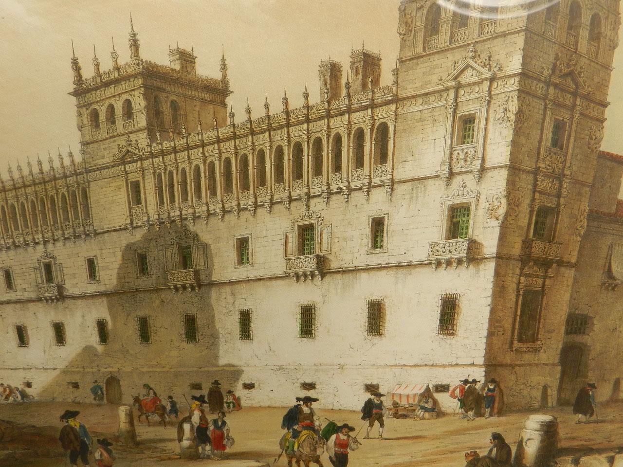 Imagen LITOGRAFÍA PALACIO MONTERREY 1842 24979