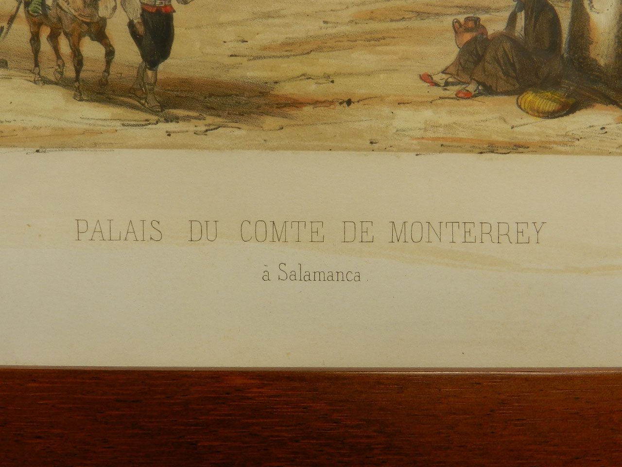 Imagen LITOGRAFÍA PALACIO MONTERREY 1842 24968