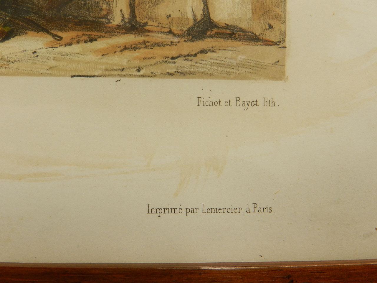 Imagen LITOGRAFÍA PALACIO MONTERREY 1842 24969