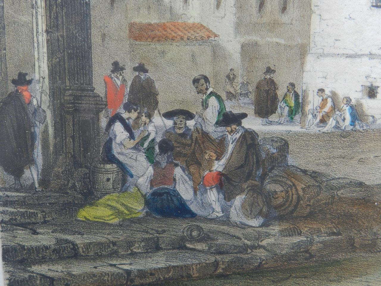 Imagen LITOGRAFÍA PALACIO MONTERREY 1842 24970