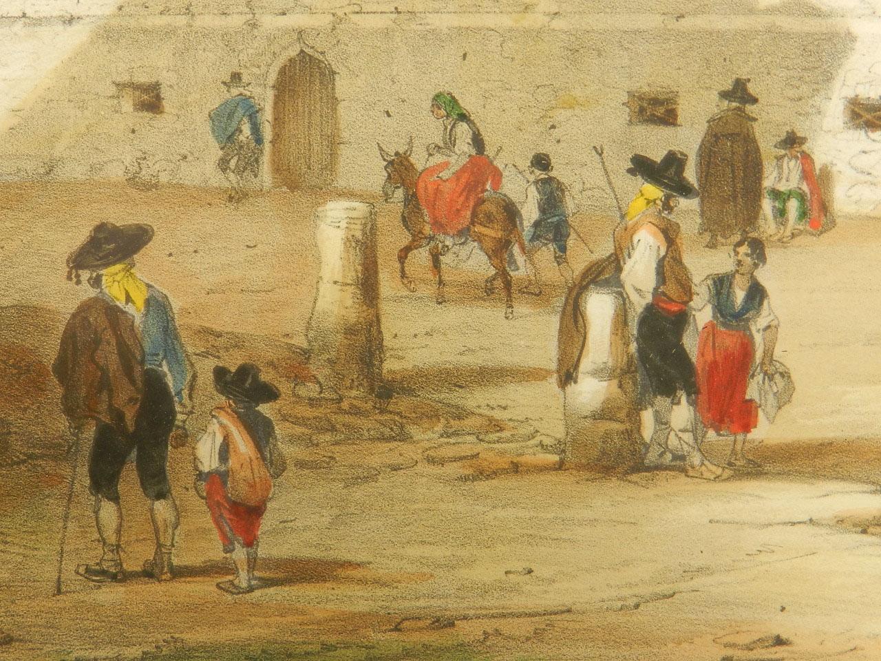 Imagen LITOGRAFÍA PALACIO MONTERREY 1842 24971