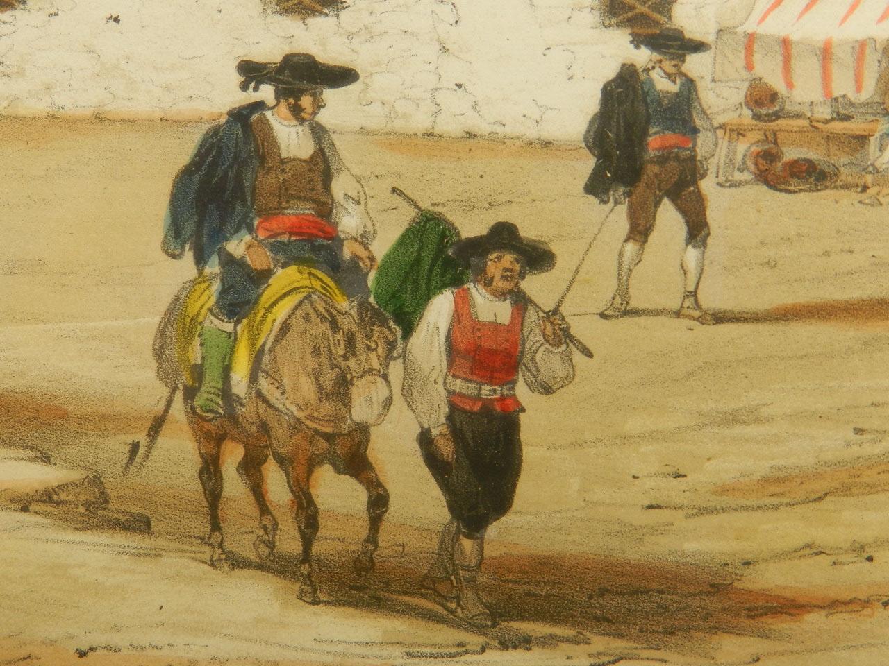 Imagen LITOGRAFÍA PALACIO MONTERREY 1842 24972