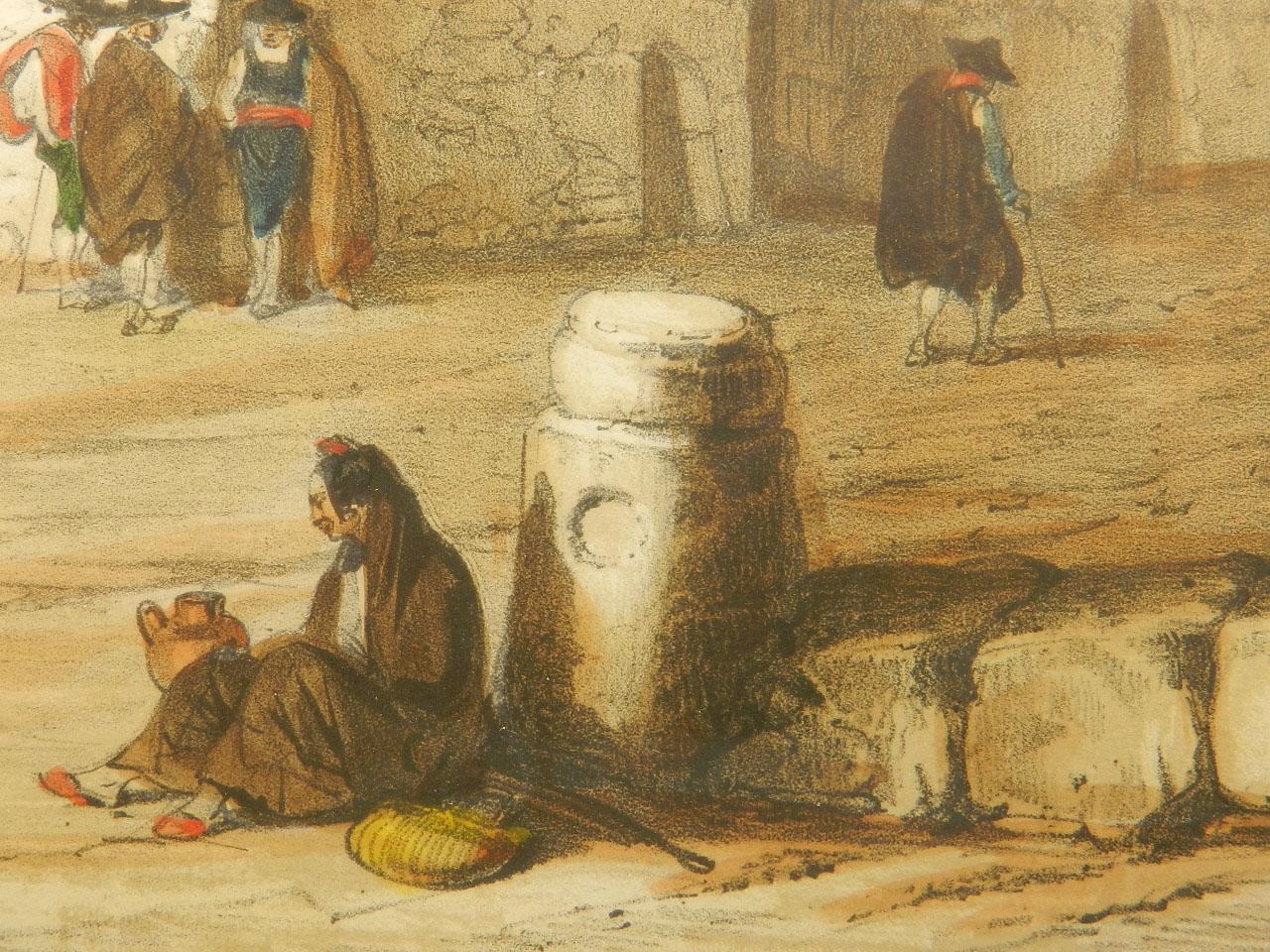 Imagen LITOGRAFÍA PALACIO MONTERREY 1842 24973