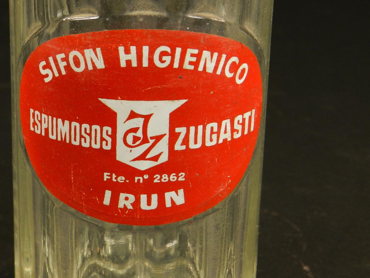 Imagen SIFÓN ANTIGUO ZUGASTI, IRÚN AÑO 1950 25257