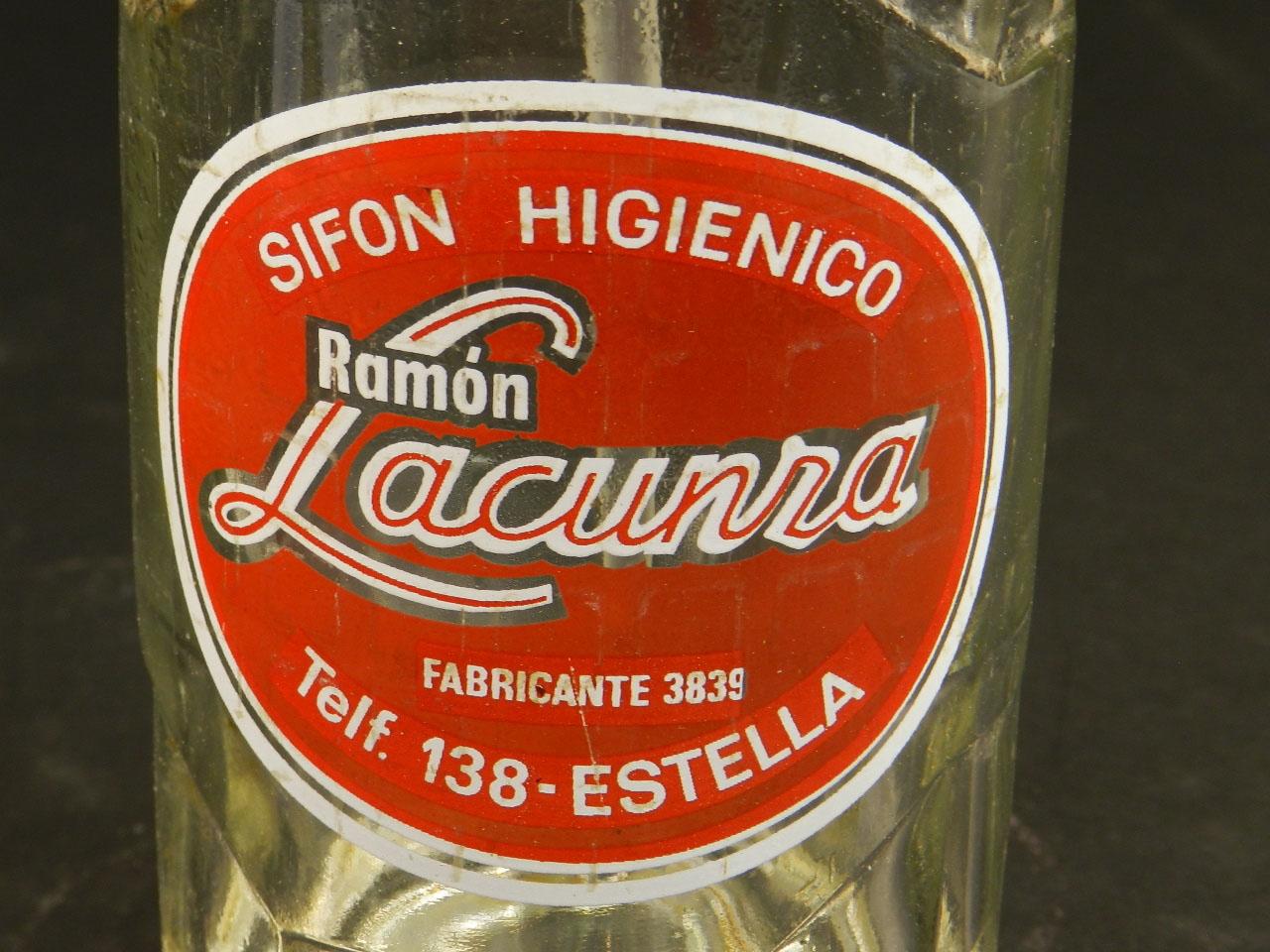 Imagen SIFÓN ANTIGUO RAMÓN LACUNZA AÑO 1950 25262
