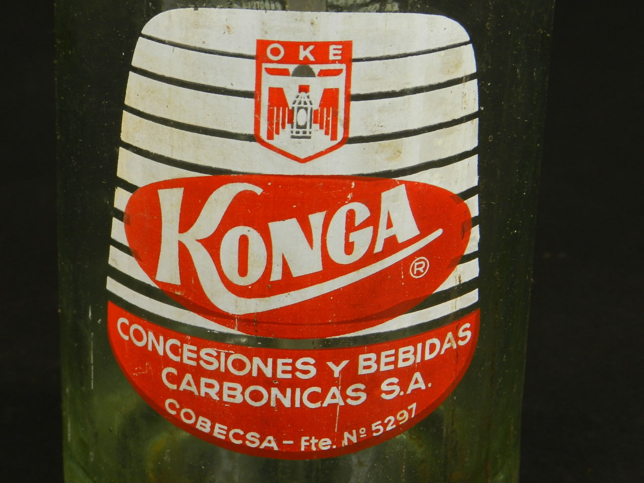 Imagen SIFÓN ANTIGUO KONGA AÑO 1950 25263