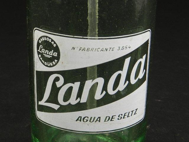 Imagen SIFÓN ANTIGUO LANDA, NAVARRA AÑO 1950 25268