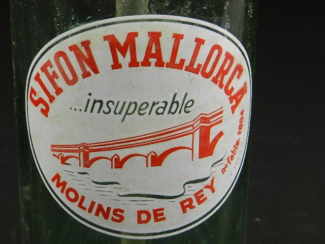 Imagen SIFÓN ANTIGUO MALLORCA AÑO 1950 25269
