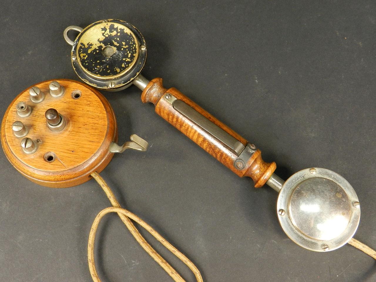 Imagen TELÉFONO DE PARED AÑO 1920 25275
