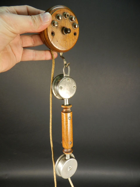 TELÉFONO DE PARED AÑO 1920