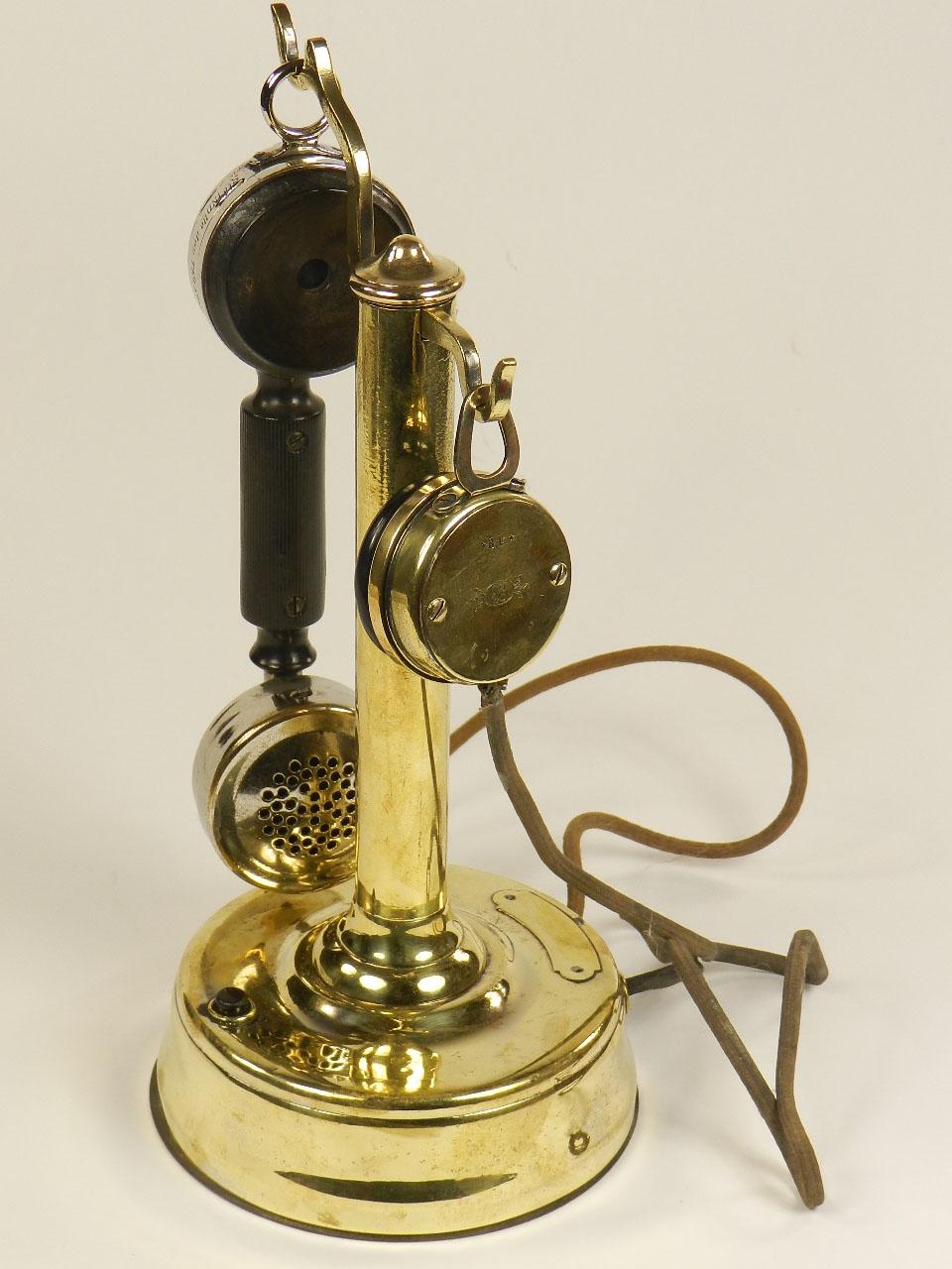 Imagen TELÉFONO DE LATÓN S.I.T. AÑO 1920 25279