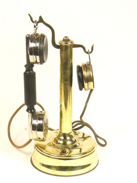 TELÉFONO DE LATÓN S.I.T. AÑO 1920