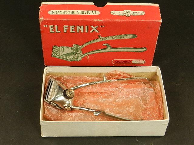 Imagen EL FENIX, MÁQUINA DE CORTAR EL PELO Nº0000 25310