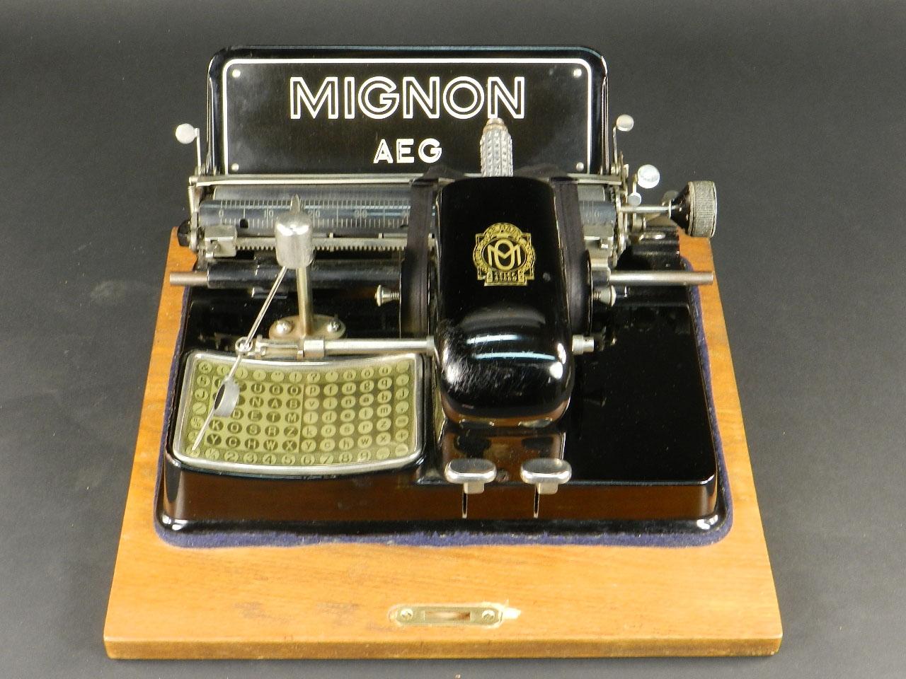 Imagen MIGNON Nº3 AÑO 1914 + MALETÍN 25512