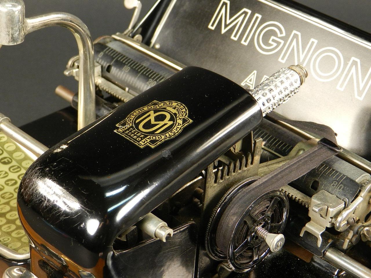 Imagen MIGNON Nº3 AÑO 1914 + MALETÍN 25517