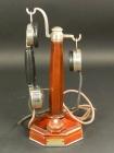 ESPECTACULAR TELÉFONO DE COLUMNA GRAMMONT AÑO 1920