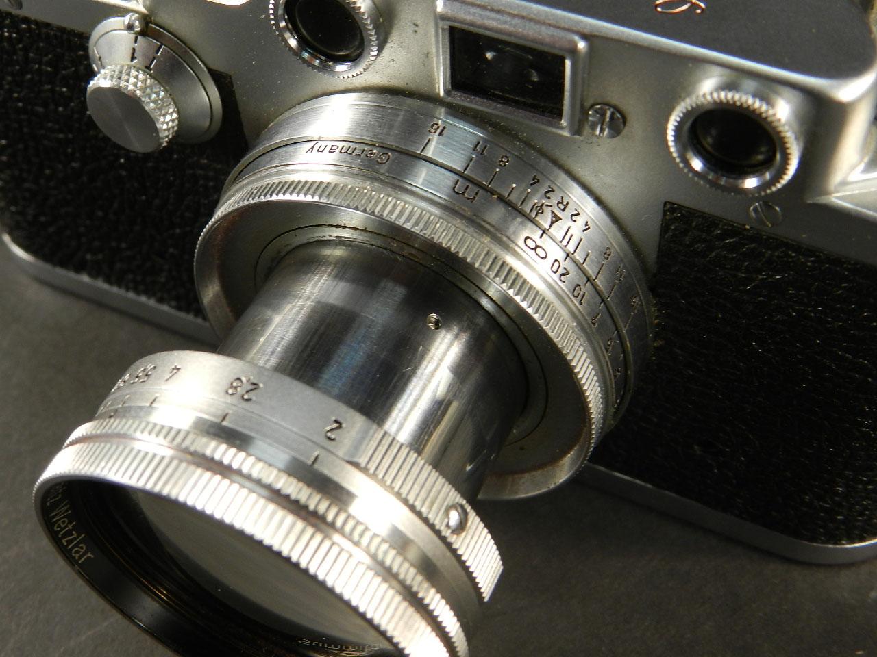 Imagen CÁMARA LEICA IIIc AÑO 1950  OBJETIVO SUMMITAR  25664