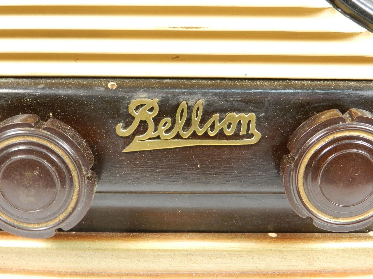 Imagen RADIO ANTIGUA BELLSON AÑO 1950 25855
