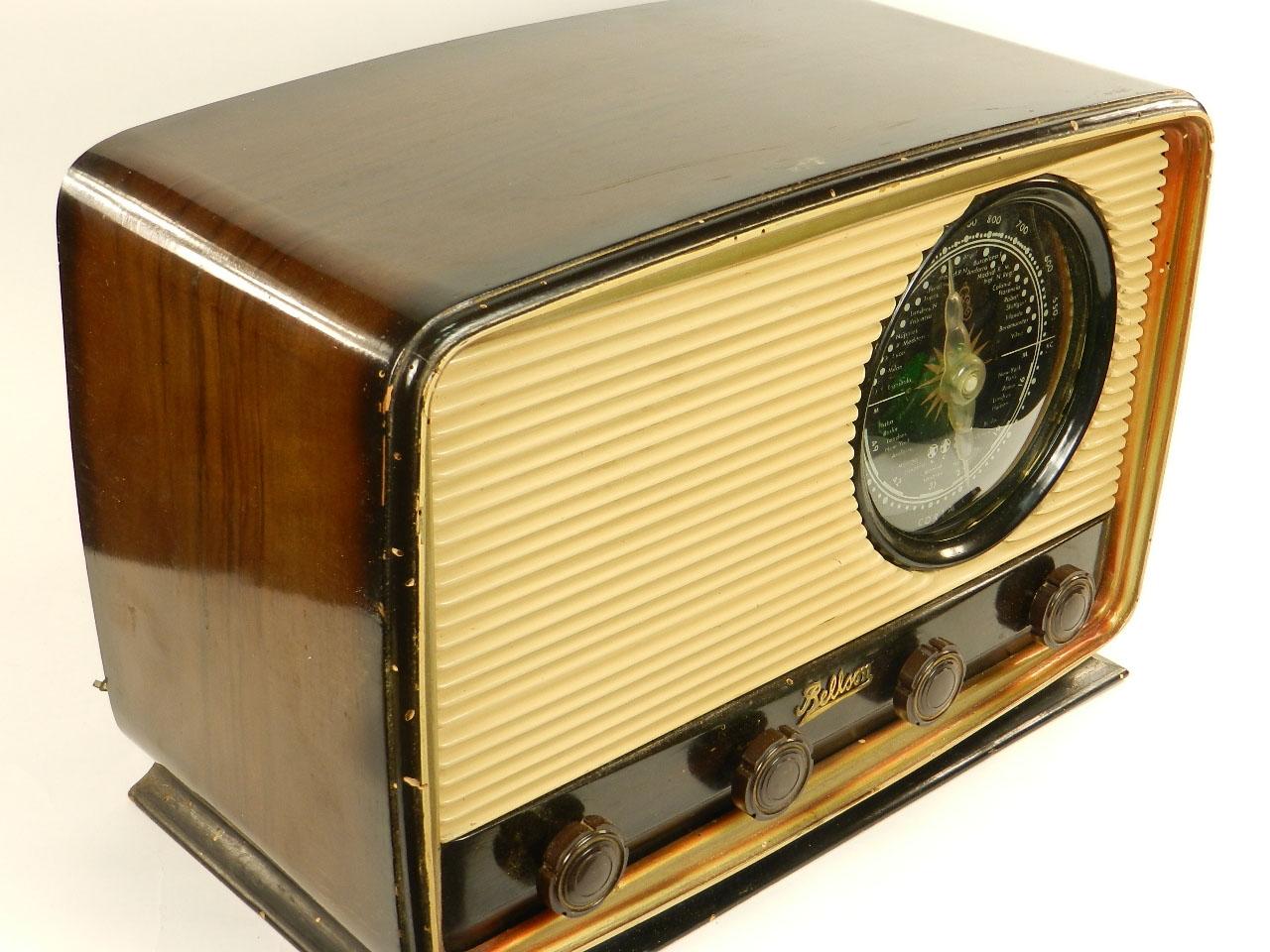 Imagen RADIO ANTIGUA BELLSON AÑO 1950 25859