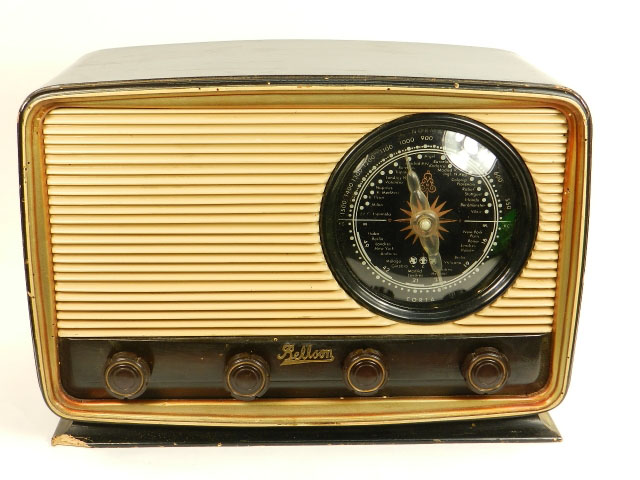 RADIO ANTIGUA BELLSON AÑO 1950