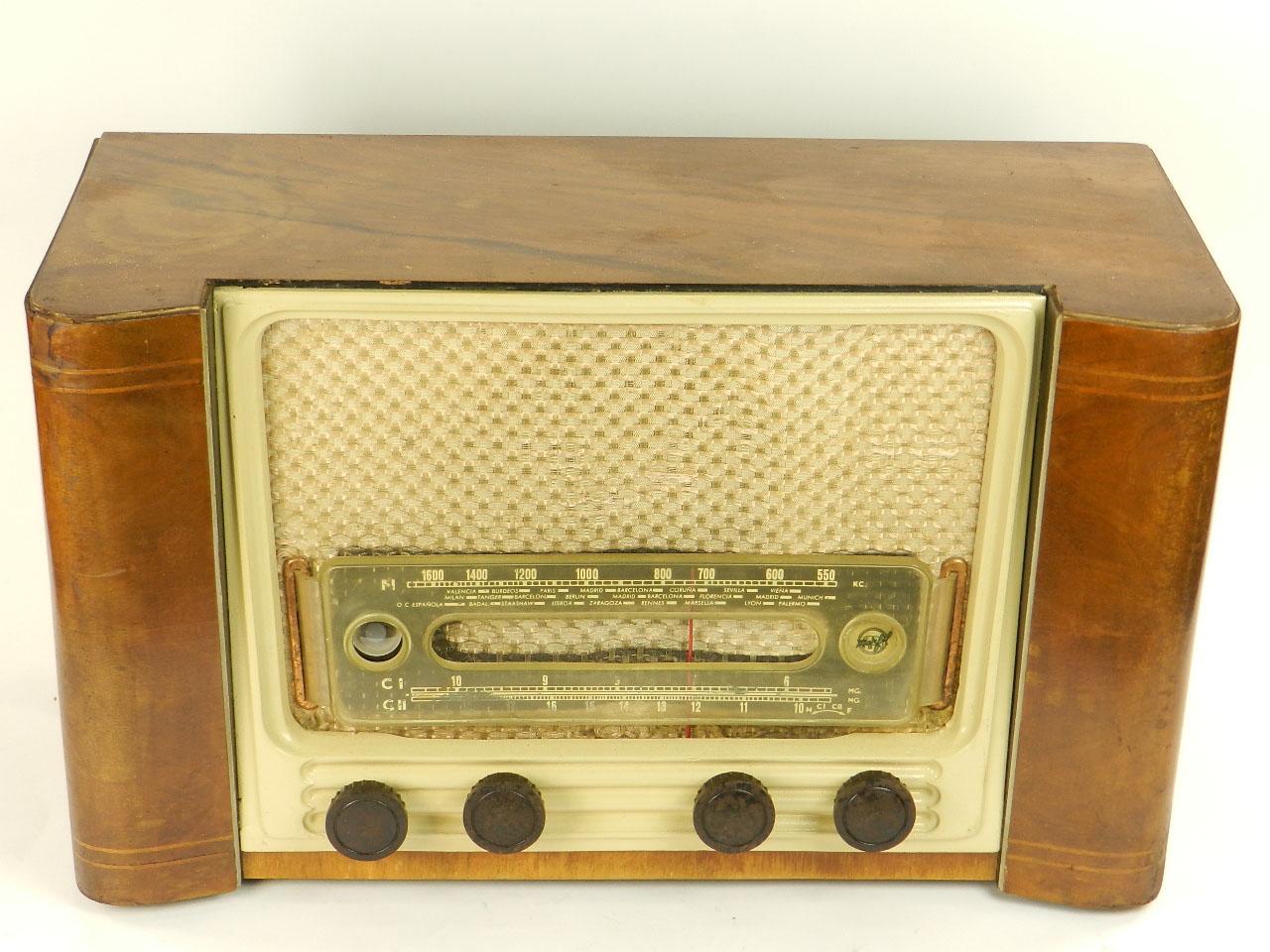 Imagen RADIO MARFIL AN-355 O.M  AÑO 1950 25918