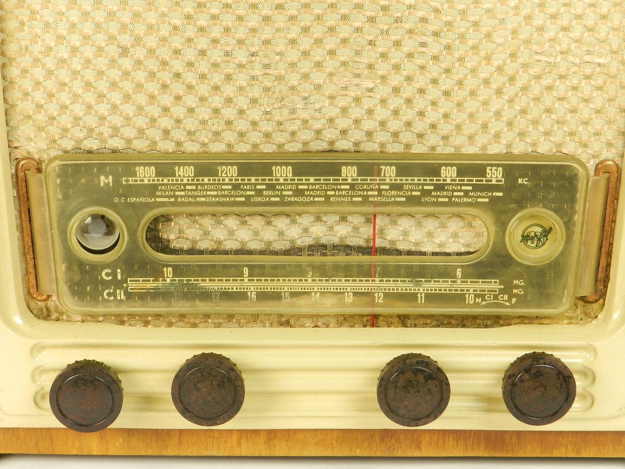 Imagen RADIO MARFIL AN-355 O.M  AÑO 1950 25919