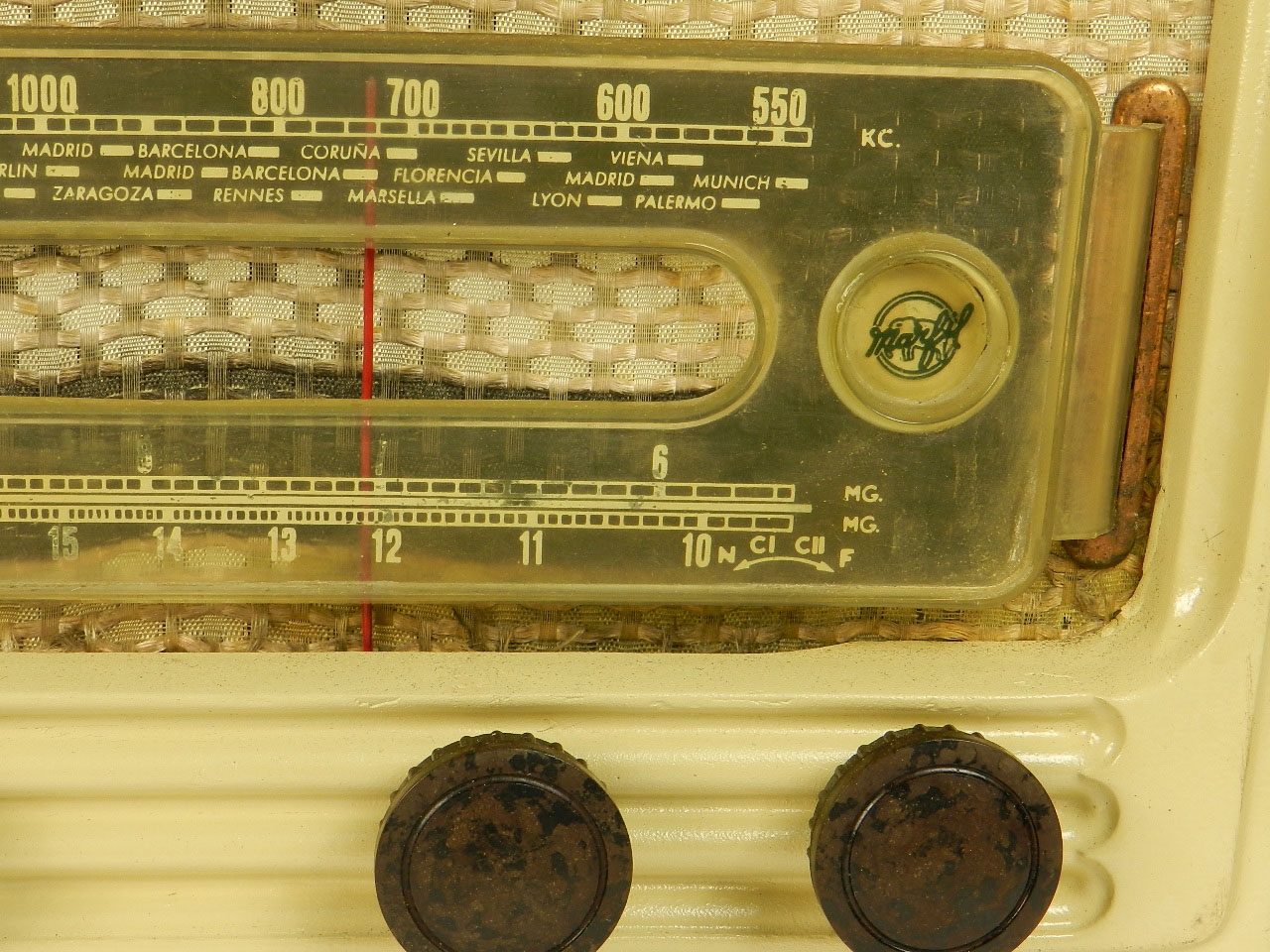 Imagen RADIO MARFIL AN-355 O.M  AÑO 1950 25921