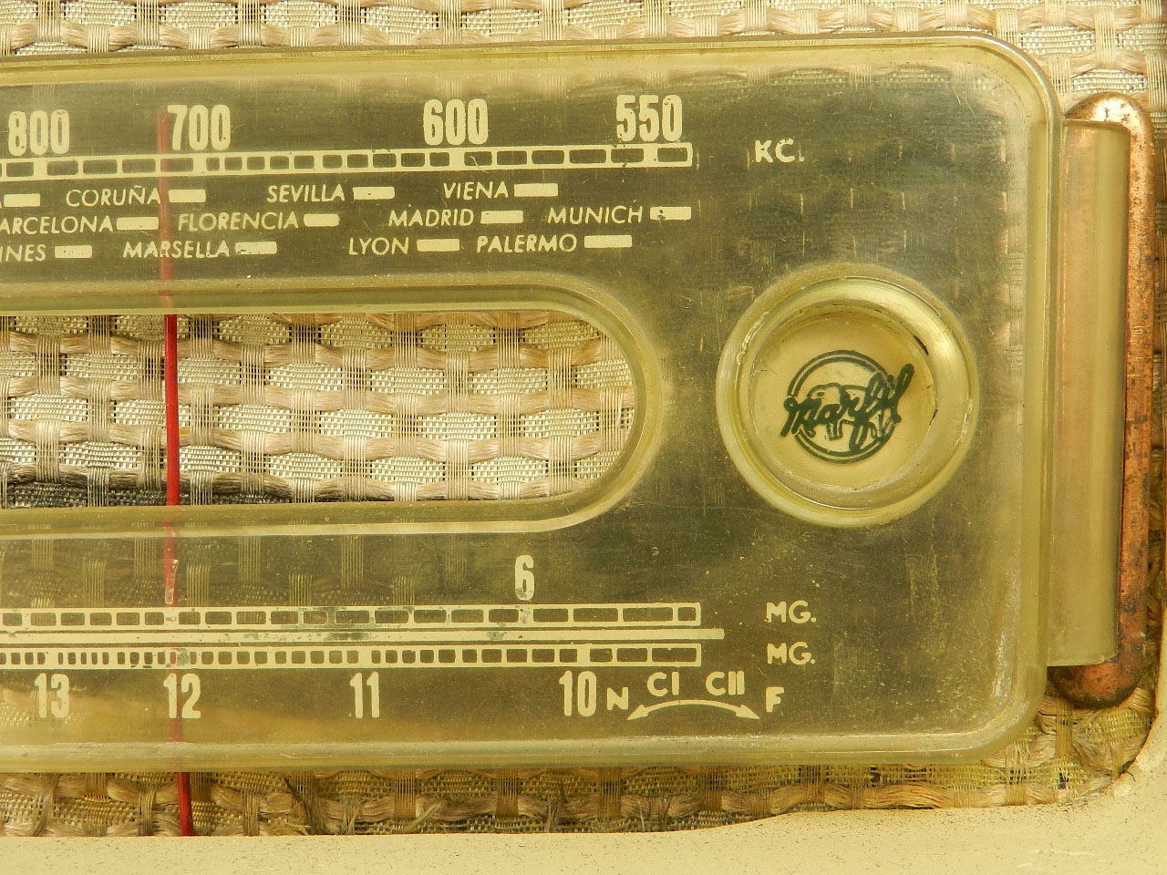 Imagen RADIO MARFIL AN-355 O.M  AÑO 1950 25922