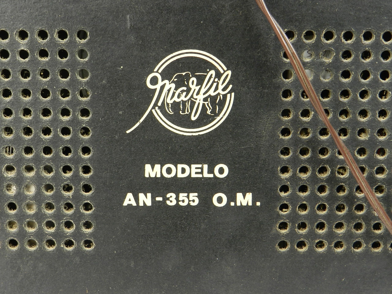 Imagen RADIO MARFIL AN-355 O.M  AÑO 1950 25925