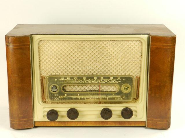 RADIO MARFIL AN-355 O.M  AÑO 1950