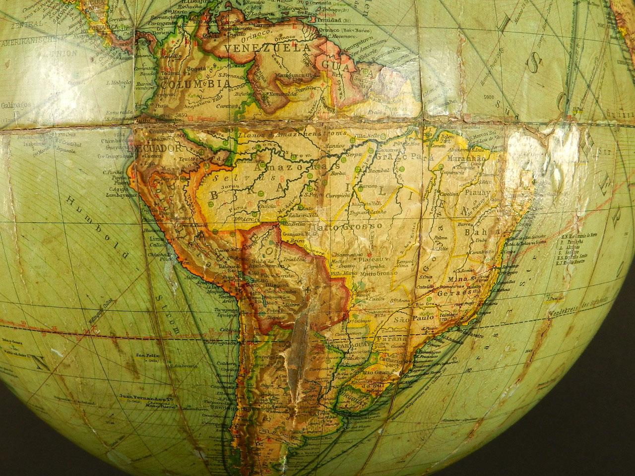 Imagen ESPECTACULAR GLOBO TERRÁQUEO MANG´S 104 cm 26069