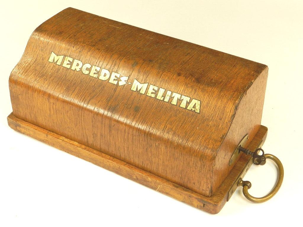 Imagen RARA CALCULADORA MERCEDES-MELITTA AÑO 1924 26123