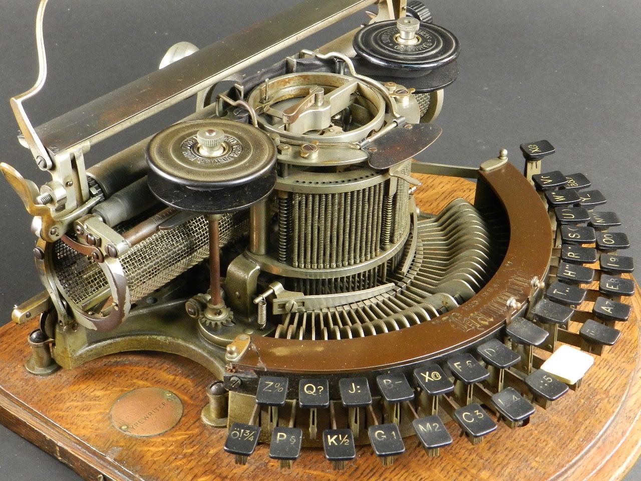 Imagen HAMMOND IDEAL AÑO 1890 26303