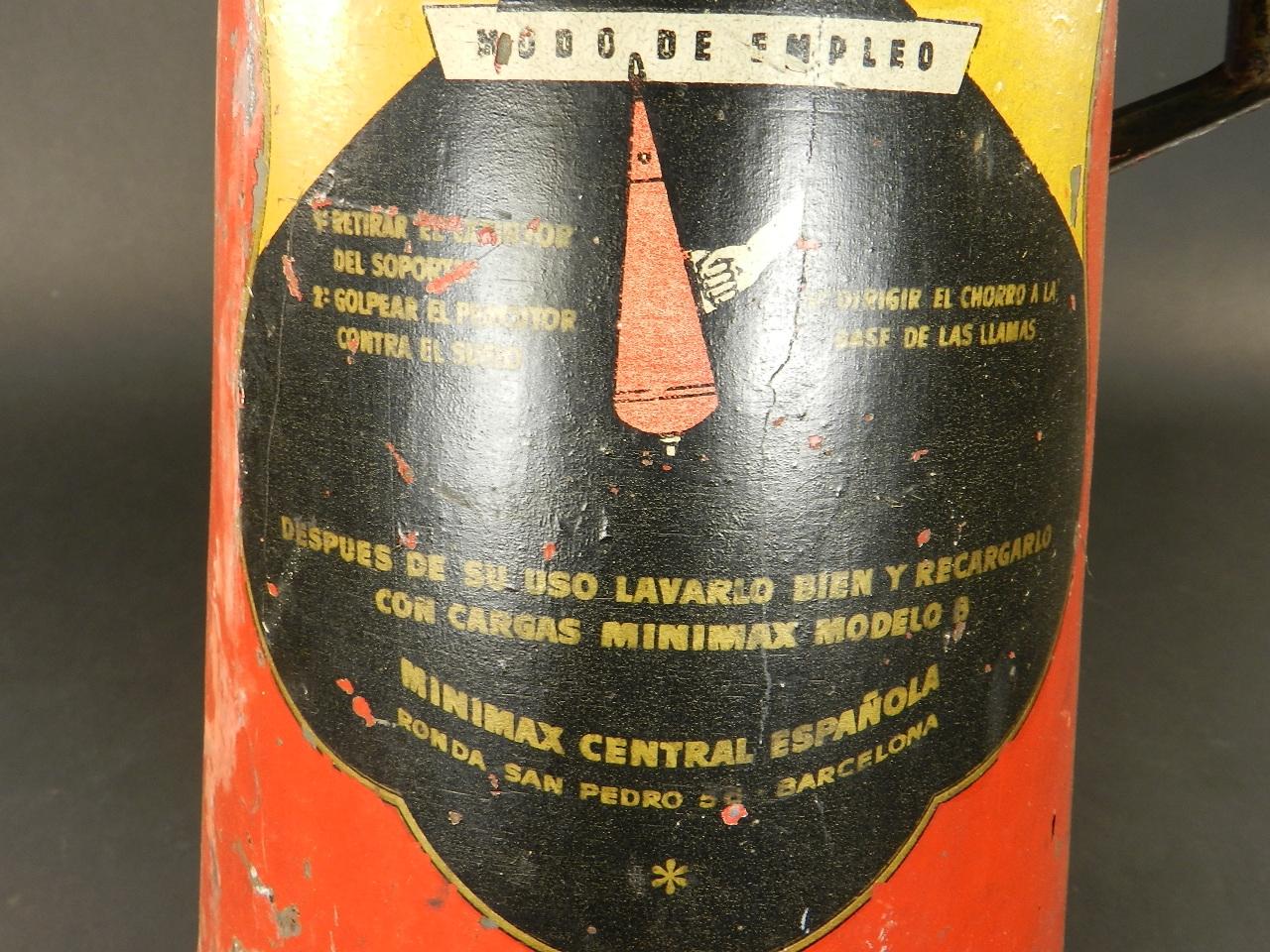 Imagen EXTINTOR CONTRA INCENDIOS MINIMAX 26947