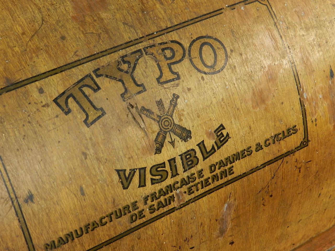 Imagen TYPO  AÑO 1915 + Caja de madera 27037